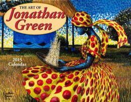 2015 Art Of Jonathan Green Wall Calendar