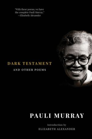 Dark Testament: and Other Poems