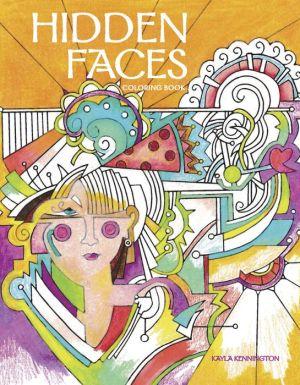 Hidden Faces Coloring Book