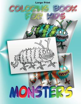 Coloring Book for Kids: Monsters