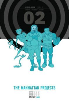The Manhattan Projects Deluxe Edition, Book 2