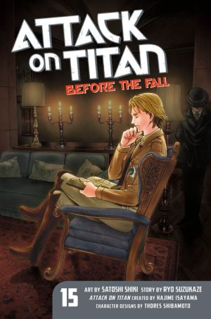 Book Attack on Titan: Before the Fall 15