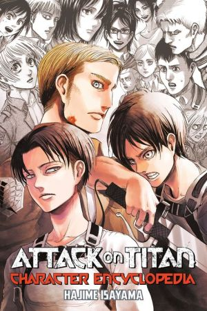 Book Attack on Titan Character Encyclopedia