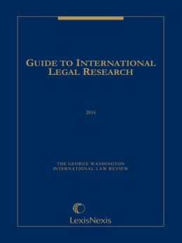 Guide to International Legal Research