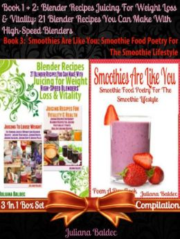 Blender Recipes: 21 Low Carb Low Fat Recipes: 3 In 1 Low Carb Low Fat Set