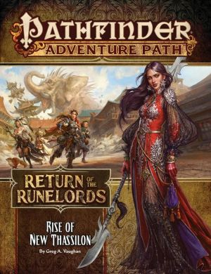 Book Pathfinder Adventure Path: Rise of New Thassilon (Return of the Runelords 6 of 6)
