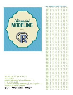 Financial Modeling using R