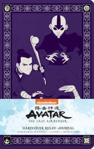 Book Avatar: The Last Airbender Hardcover Ruled Journal