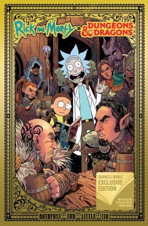 Book Rick and Morty vs. Dungeons & Dragons