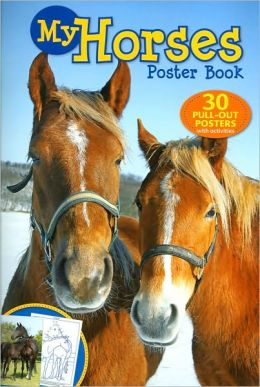 My Horses Poster Book
