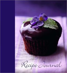 Violet Cupcake Large Recipe Journal