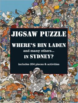 Where's Bin Laden in Sydney? Jigsaw Puzzle: includes 150 places and activities