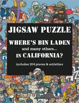 Where's Bin Laden in California? Jigsaw Puzzle: includes 204 pieces & activities