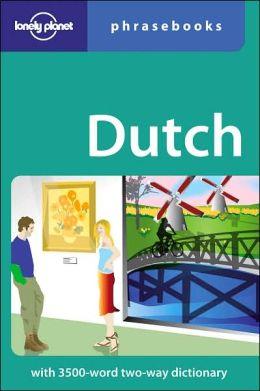Lonely Planet: Dutch Phrasebook