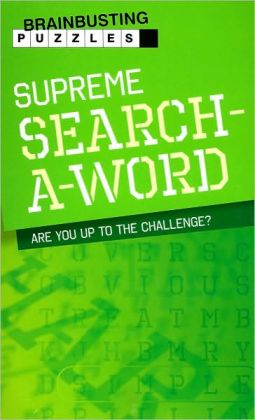 Brainbusting Puzzles: Supreme Search-a-Word