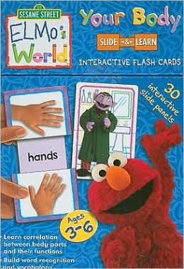 Elmo's World Flash Cards: Your Body