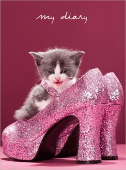Kitten Heels Lock and Key Diary