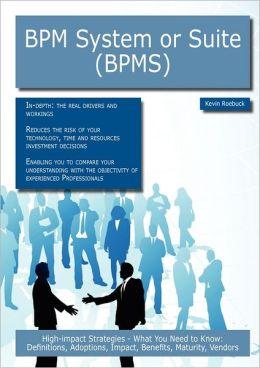 Bpm System Or Suite (Bpms)