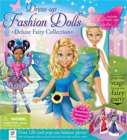 Dress up Dolls Deluxe Collection Fairy Binder