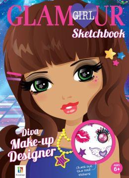 Diva Make-up Designer Sketchbook!