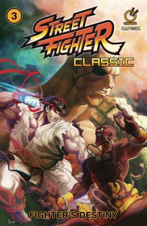 Book Street Fighter Classic Volume 3: Fighter's Destiny