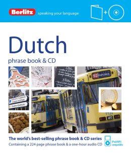 Berlitz Dutch Phrase Book & CD