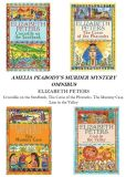 Book Cover Image. Title: Amelia Peabody Omnibus (Books 1-4), Author: Elizabeth Peters