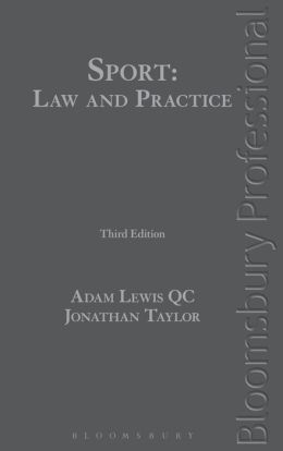 Sport: Law and Practice: Third Edition