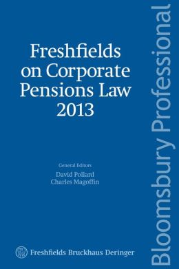 Freshfields on Corporate Pensions Law 2013