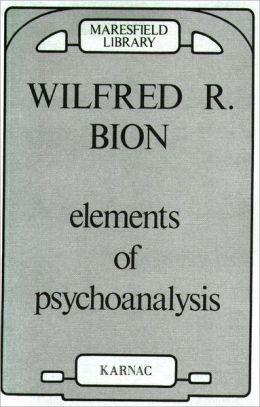 Elements of Psychoanalysis