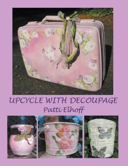 Upcycle with Decoupage