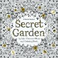 Book Cover Image. Title: Secret Garden:  An Inky Treasure Hunt and Coloring Book, Author: Johanna Basford