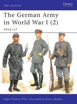 The German Army in World War I (2): 1915-17
