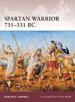 Spartan Warrior 735-331 BC