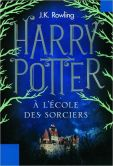 Book Cover Image. Title: Harry Potter � l'�cole des Sorciers (Harry Potter and the Sorcerer's Stone:  Harry Potter Series #1), Author: J. K. Rowling