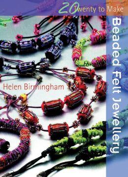 Beaded Felt Jewellery