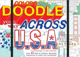 Color & Doodle Your Way Across the USA