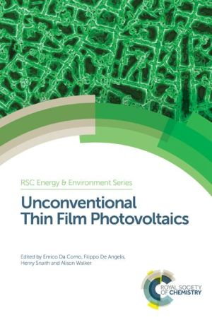 Unconventional Thin Film Photovoltaics