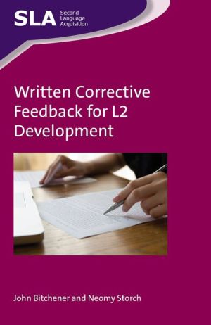 Written Corrective Feedback for L2 Development