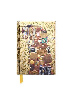 Klimt's Fulfillment, Stoclet Frieze (Foiled Pocket Journal)