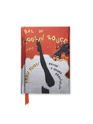 Rene Gruau Bal du Moulin Rouge (Foiled Pocket Journal)
