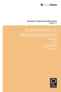 Experiments in Macroeconomics