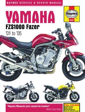 Yamaha FZS1000 Fazer '01 to '05