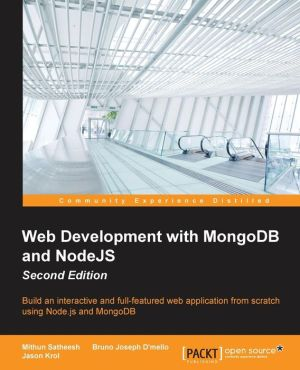 Web Development with MongoDB and NodeJS