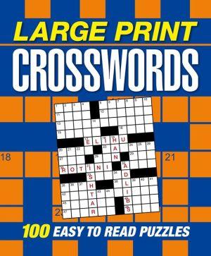 Large Print US Crosswords