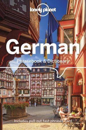 Book Lonely Planet German Phrasebook & Dictionary