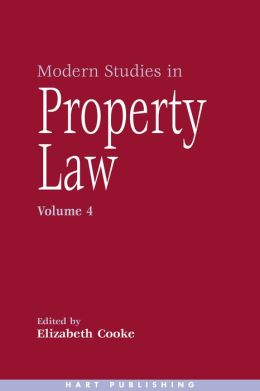 Modern Studies in Property Law