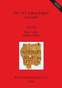The UCL Lahun Papyri: Accounts