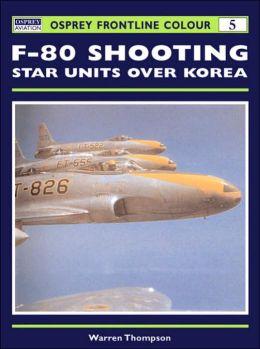 F-80 Shooting Star Units over Korea