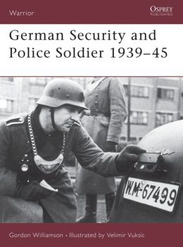 German Security & Police Soldier 1939/45